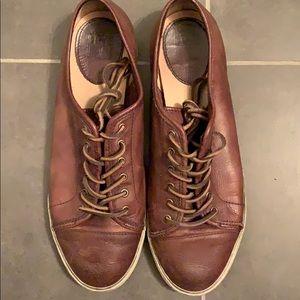 Frye walker low lace leather sneaker